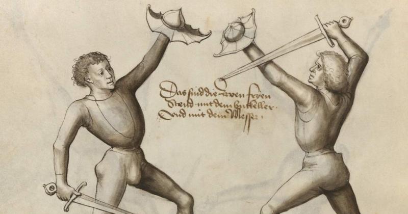Andre Lignitzer – Meč a štítok